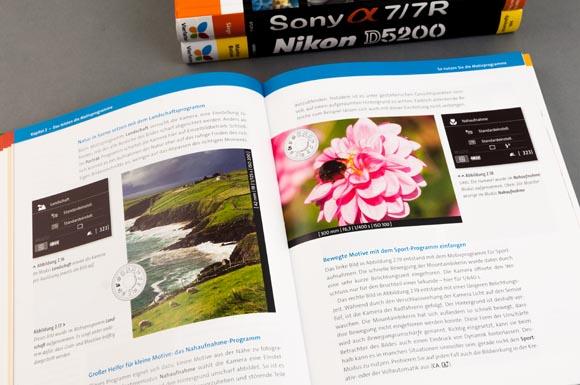 Doppelseite Kamerabuch