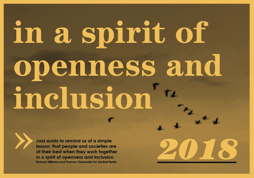 In a spirit of openness and inclusion 2018
